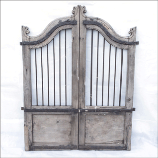old-teak-dog-gates